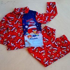 🌺 3 for $10 Angry Bird Pajamas Set